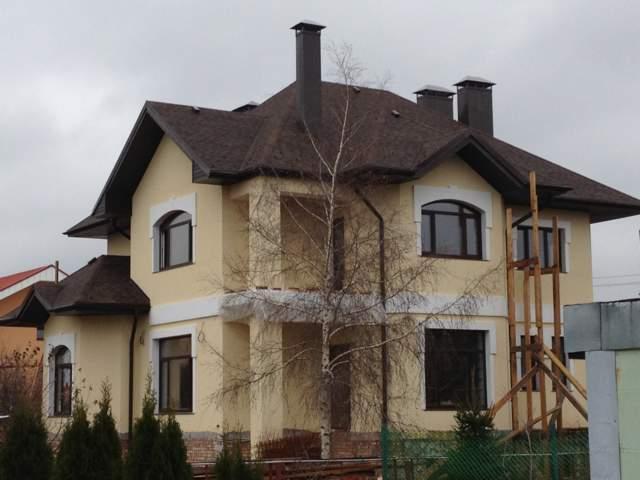 фасад здания мокрого типа
