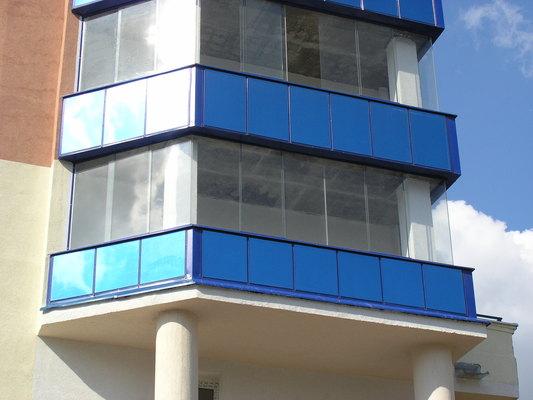 балкон остекленный