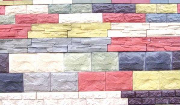 Фактура и цвет плиток для фасада