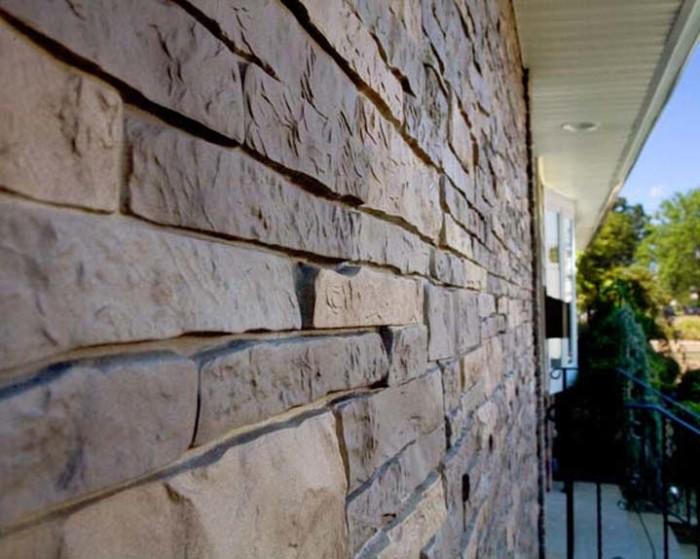 Панель для фасада под камень