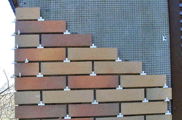 Плитка на фасаде