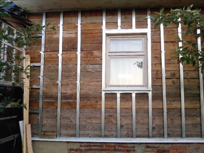 Обрешетка фасада под панели