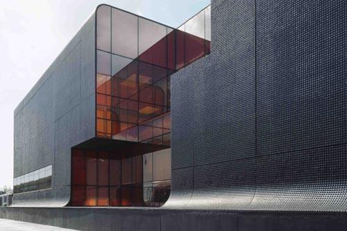 Навесные фасады из стекла