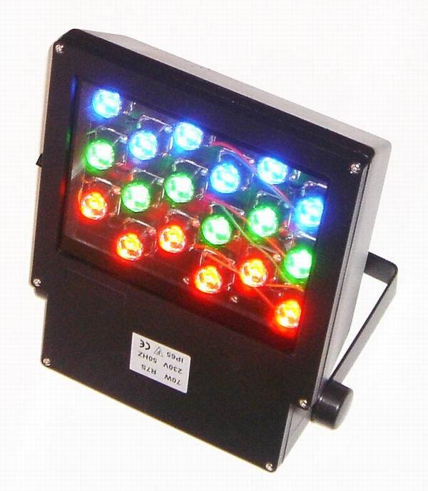 Светодиодный прожектор для фасада