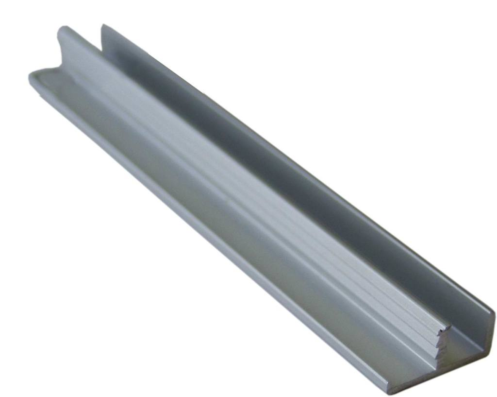Алюминиевый профиль для фасада.