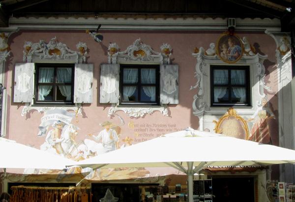 Роспись фасадов своими руками 82