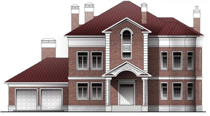 Фасад в английском стиле