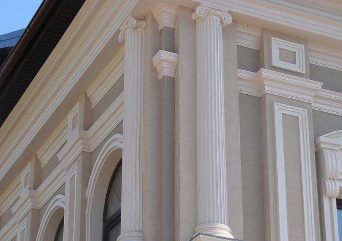 Украшение фасада