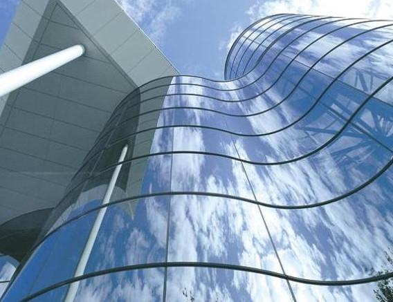 Алюминиевый радиусный фасад