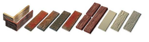 Разные виды кирпича
