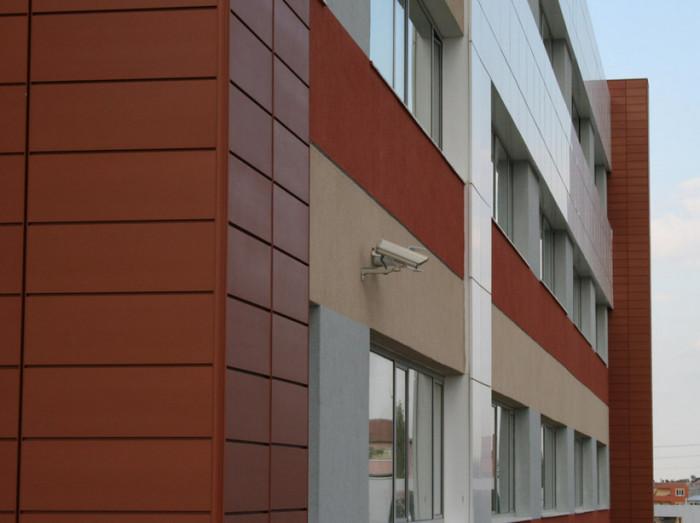 Отделка здания