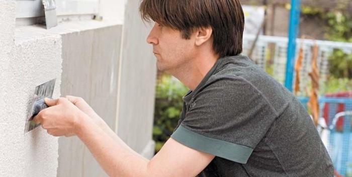 Шпаклевать фасад дома своими руками 88