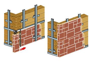 Порядок установки панелей на фасад