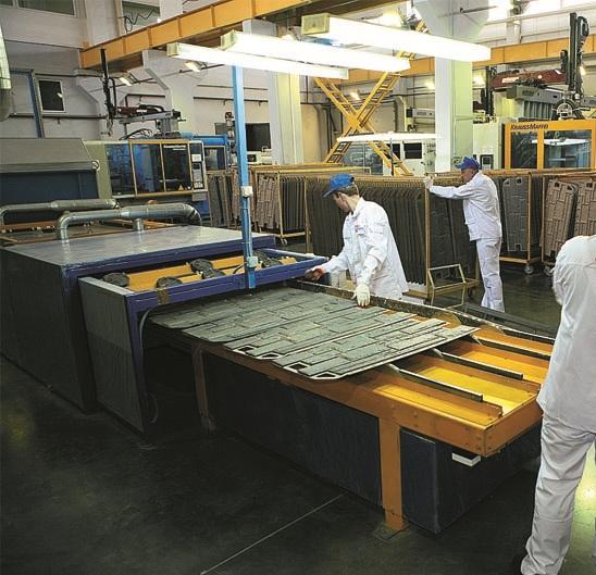 Изготовление панелей