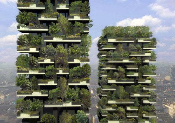 Здание в Милане