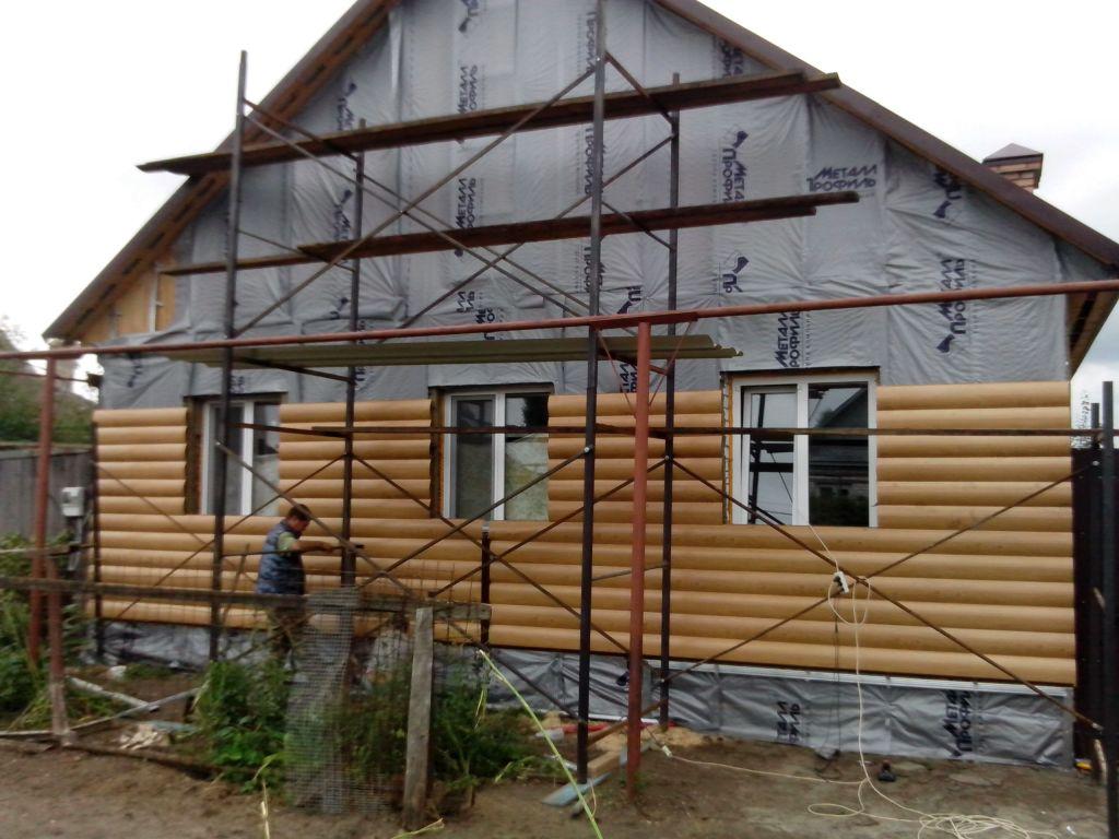 Как обложить дом сайдингом своими руками фото 227