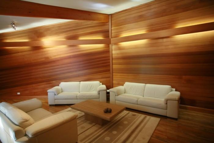 Деревянный сайдинг для внутренней отделки