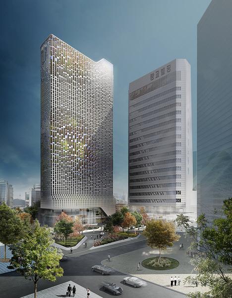 Небоскреб в Сеуле