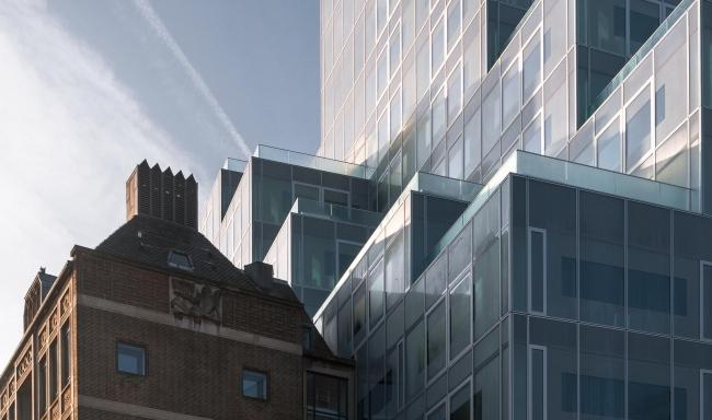 «Гибкое» здание из кубиков